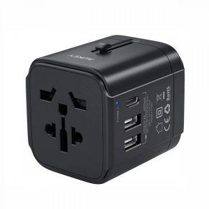 شارژر مسافرتی و جهانی USB C آوکی مدل PA-TA01