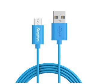 کابل تبدیل USB به microUSB انرجایزر C11UBMCGBL3 طول 1.2m